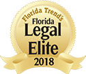 floride trend's Florida Legal Elite 2018 badge