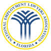 National Employment Lawyers Association Florida Logo